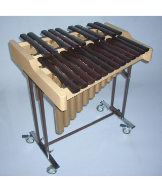 Alto xylophone C to A chrom. with resonator tubes