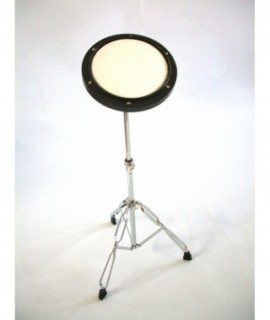 """PRACTICE DRUM 8 """" Ø, with stand."""